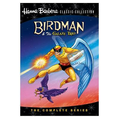 Birdman & The Galaxy Trio: The Complete Series HANNA BARBERA DVD