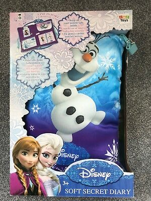 Frozen Soft Secret Diary - New and Sealed.
