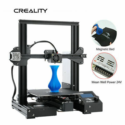 Creality Ender 3 Pro 3D Printer Magnetic Hot Bed Sticker MeanWell Power DIY Kit