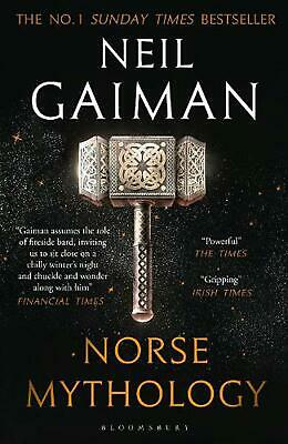 Norse Mythology by Neil Gaiman Paperback Book Free Shipping!