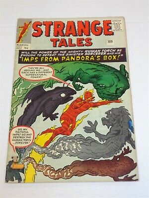 Strange Tales #109 Marvel Comics June 1963 Fn (6.0)**