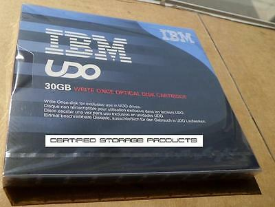 "NEW IBM 23R2567 5.25"" UDO 30GB Optical Disk Cartridge Write Once Worm Sealed"