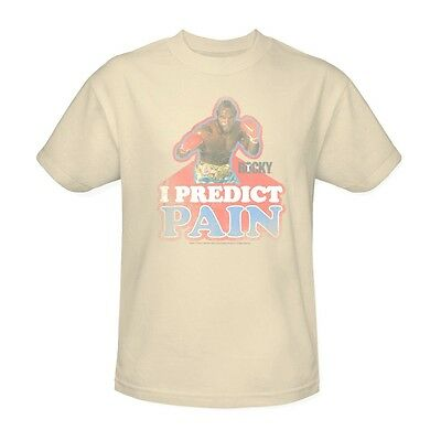 3590ff3e04c0 MR. T T-SHIRT I predict pain clubber lang retro Rocky 80's movie tee ...