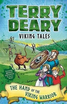Viking Tales: the Hand of the Viking Warrior by Terry Deary Paperback Book Free