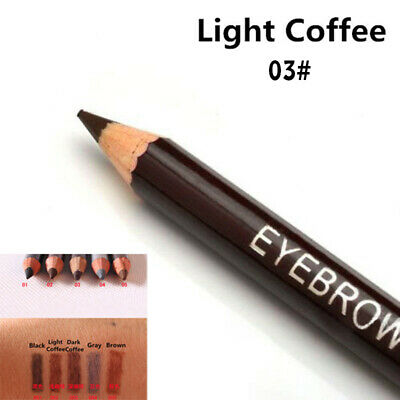 Waterproof For Makeup Eyebrow Pencil Leopard Long Lasting Brow Liner with Brush