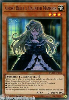 DUPO-EN078 Ghost Belle & Haunted Mansion Ultra Rare 1st Edition Mint YuGiOh Card