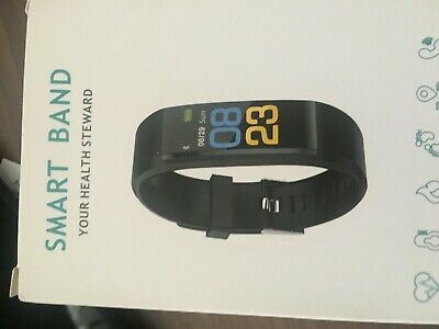Smart Band Bracelet Wristband Watch Heart Rate Blood Pressure Fitness Tracker