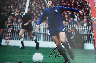 Chelsea Tommy Baldwin Signed 12X8 Photo 2