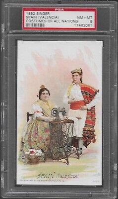 Burmah 1892 Singer Costumes of all Nations PSA 8  Pop 2