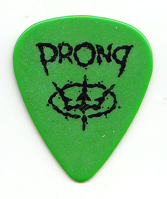 Vintage Prong Single-Sided Green Tour Guitar Pick