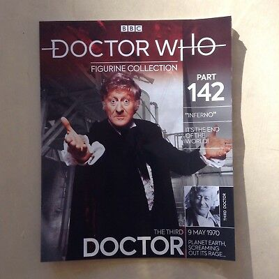 Doctor Who - Figurine Collection  #142 - The Third Doctor (MAG ONLY)