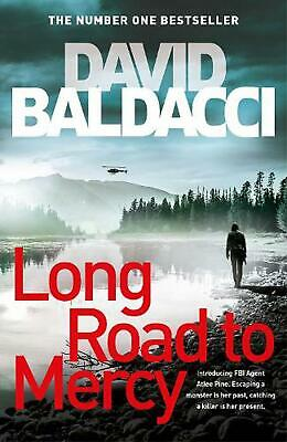 Long Road to Mercy by David Baldacci Hardcover Book Free Shipping!