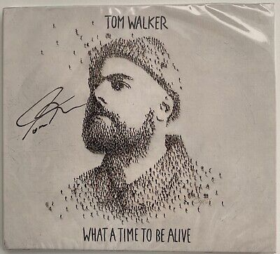 Tom Walker What A Time To Be Alive Hand Signed Autographed Cd Album New & Sealed