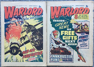 Warlord Issues - 16 , 17