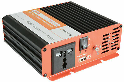 300W Inverter Pure Sine Wave DC 12V to AC 220-230V Power Converter