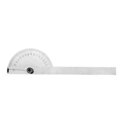 Stainless Steel 180 Degree ROUND Head Depth Gage Protractor