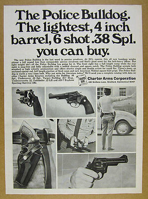 1976 CHARTER ARMS Bulldog  44 Special Revolver handgun photo