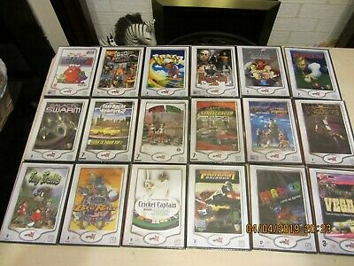 Pc GAMES JOB LOT NEW AND SEALED