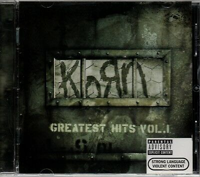 KORN - Greatest Hits Vol.1 - CD Album *Best Of**Collection**Singles*