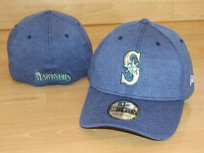 buy popular 28dcc ea655 Seattle Mariners MLB Team Pennant 39Thirty Flex Fitted Hat Cap Men s ...