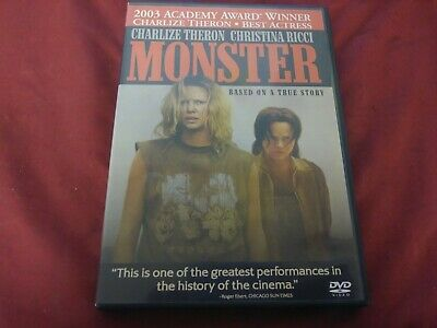Monster Charlize Theron Christina Ricci Dvd Movie Film Disc Columbia Tristar R
