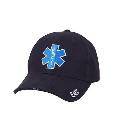Star of Life EMT Ball Cap EMS Army Medic 68W 91W 91A Navy Corpsman Paramedic Hat