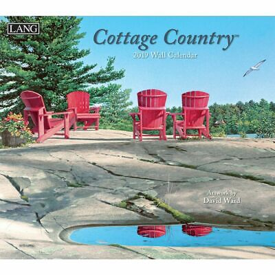 2019 Cottage Country Wall Calendar,  by Lang Companies