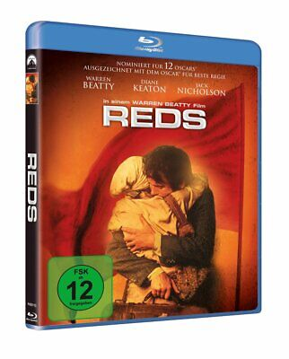 REDS (1981) Warren Beatty Blu-Ray BRAND NEW Free Ship IMPORT (USA Compatible)