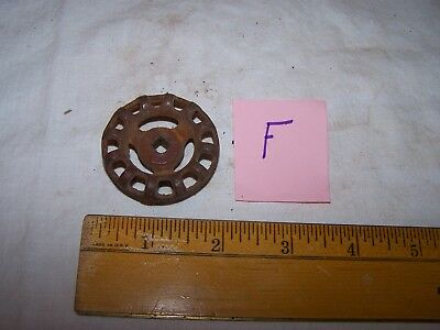 Vintage Cast Iron INDUSTRIAL Faucet VALVE HANDLE  - Steampunk - Lot F