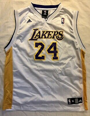 32995776295 Los Angeles Lakers Jersey - Vintage  24 Kobe Bryant Adidas NBA-Youth XL