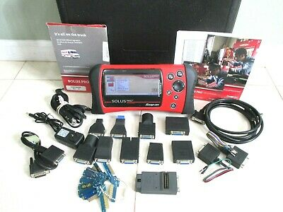 SNAPON SOLUS PRO DIAGNOSTIC SCANNER DOMESTIC ASAIN EUROPEON 17 2 update  80S-2016