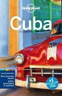 NEW Cuba By  Lonely Planet Travel Guide Paperback Free Shipping