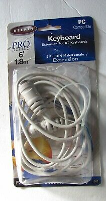 Belkin ps2 MF Keyboard or Mouse Extension Cable F2N035A06 F2N035A-06