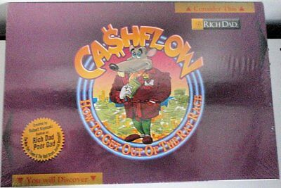 CASHFLOW  Rich Dad  How To Get Out Of The Rat Race Board Game  New in Sealed Box