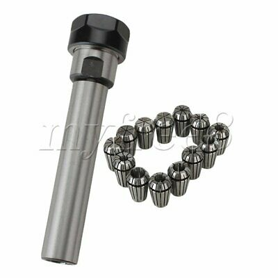 14pcs Milling C20-ER20A-100LStraight Shank Chuck + Spring Collect Clamp