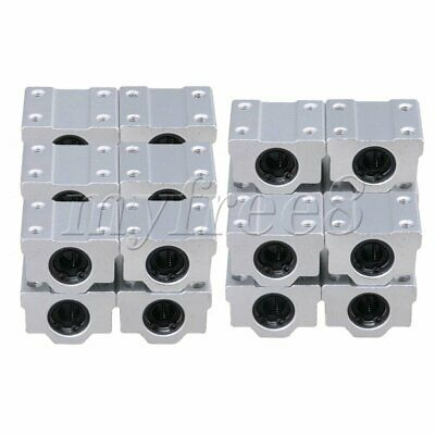 20pcs SC8UU Linear Motion Ball Bearing CNC Slide Bushing 34.5mm Length