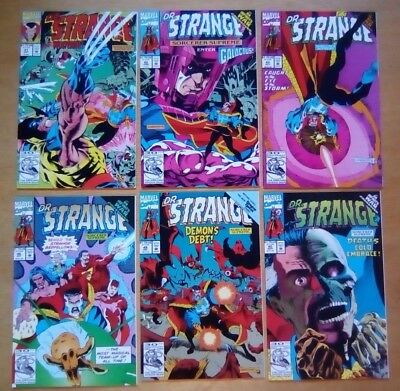 6 Issues Of Doctor Strange #41,42,43,45,46,48 Marvel Comics 1992  All Fine Cond