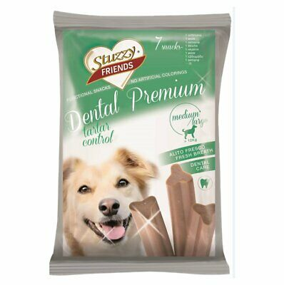 Sruzzy Friends Cane Dental Premium Igiene dentale Medium 210 gr