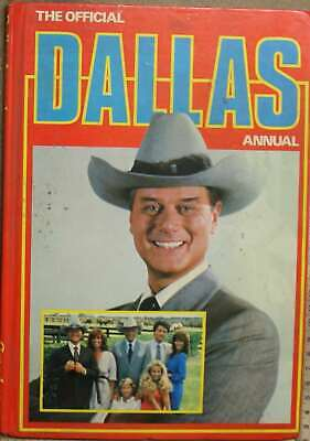 , The Official Dallas Annual, Hardcover, Very Good Book