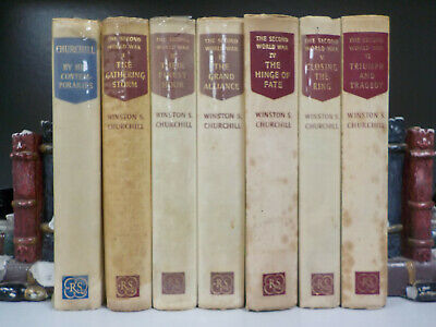 Churchill - The Second World War, By His Contemporaries - RS - 7 Books (ID:4718)