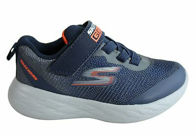 New Skechers Infant Boys Go Run 600 Farrox Cushioned Athletic Shoes