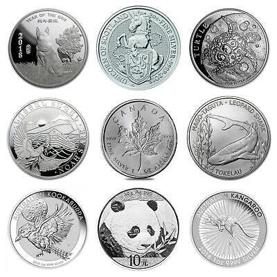 2018 1oz 2oz Silver Bullion Silver Beast coins and Capsules 38.6 40.6 mm
