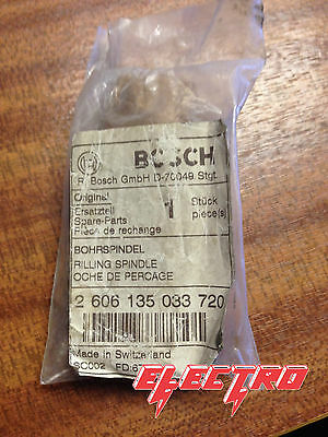 """Bosch Csb 550 Drilling Spindle 1/2"""".m6 2606135033 Spare Part Type: 603167403"""