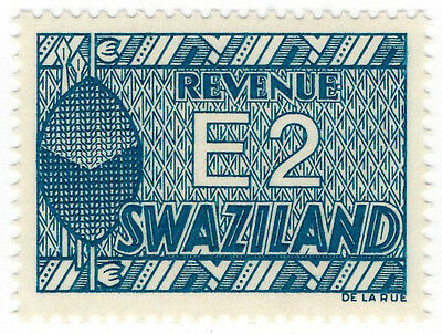(I.B) Swaziland Revenue : Duty Stamp E2