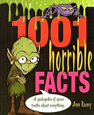 (Very Good)-1001 Horrible Facts (Paperback)-Anne Rooney-1841934690