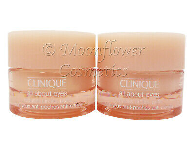 Clinique All About Eyes eye cream for puffs, circles & fine lines 10ml (2x5ml)