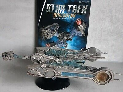 Star Trek Discovery Starships Collection Eaglemoss Klingonische Sarcophagus NEU