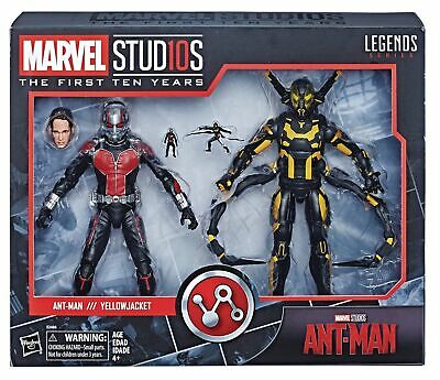 Marvel Studios The First Ten Years Ant-Man Ant-Man and Yellowjacket Action Figur