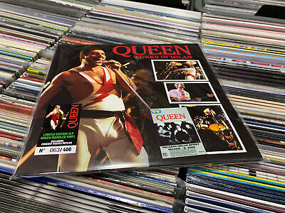 Queen 2 Lp Works In Milan Limited Edition Green Marbled Vinyl
