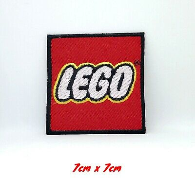 Lego Toys badge cartoon movie Embroidered Iron on Sew on Patch #328